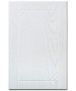 laserad grå diagonalen kökslucka