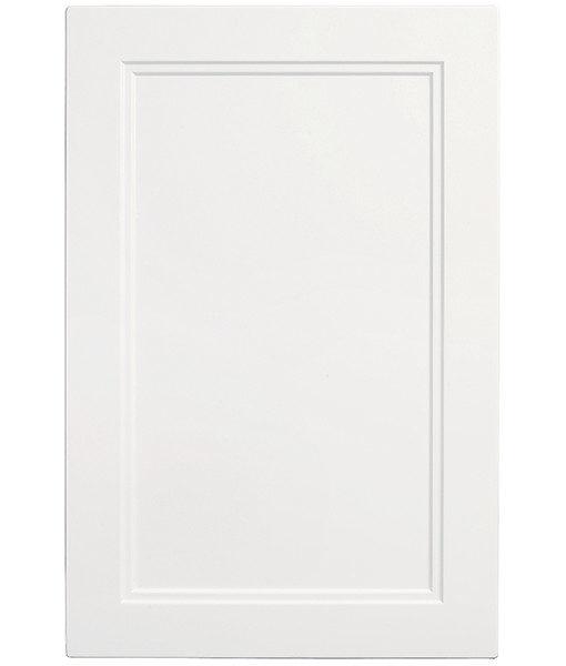 lackerad exklusiv solid vit kökslucka