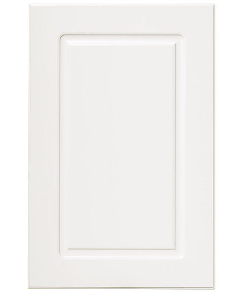 lackerad rektangel vit kökslucka